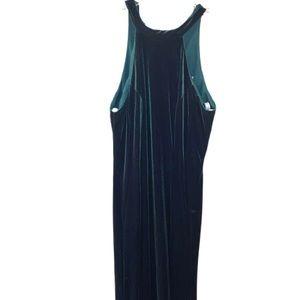 Christina Wu Formal Dress Size 10 Hunter Green in Velvet